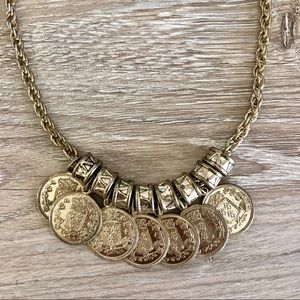 🔥 H&M Gold Coin Necklace
